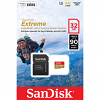 Original SanDisk Extreme 32GB MicroSDHC Memory Card + Adapter (SDSQXAF032GGN6AA)