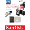 Original SanDisk High Endurance Class 10 32GB Video Monitoring microSDHC Memory Card (SDSDQQ-032G-G46A)
