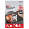 Original SanDisk Ultra Class 10 64GB SDXC Memory Card (SDSDUNC064GG46IN)