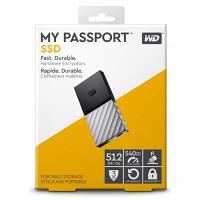 Original Western Digital My Passport 512GB USB 3.0 External SSD Drive (WDBKVX5120PSL-WESN)