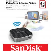 Original SanDisk Connect 64GB Wireless Media Drive (SDWS1-064G-E57)