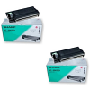 Original Sharp AL100TD Black Twin Pack Toner Cartridges (AL100-TD)
