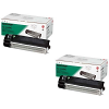 Original Sharp AL110DC Black Twin Pack Toner Cartridges (AL110DC)