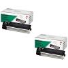 Original Sharp AL110DC Black Twin Pack Toner Cartridges