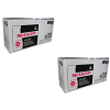 Original Sharp AR-156LT Black Twin Pack Toner Cartridges (AR-156LT)