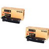 Original Sharp AR270LT Black Twin Pack Toner Cartridges