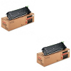 Original Sharp ARC26TBN Black Twin Pack Toner Cartridges (ARC26TBN)