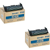 Original Sharp FO47DC Black Twin Pack Toner Cartridges (FO-47DC)