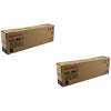 Original Sharp MX-500GT Black Twin Pack Toner Cartridges (MX-500GT)