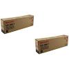 Original Sharp MX-500GT Black Twin Pack Toner Cartridges (MX-500GT)