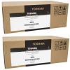 Original Toshiba T-305PK-R Black Twin Pack Toner Cartridges (6B000000749)
