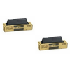 Original Toshiba TK-15 Black Twin Pack Toner Cartridges (TK-15)