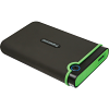 Original Transcend Slim StoreJet Grey 1TB 2.5inch External Hard Drive (TS1TSJ25M3S)