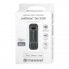 Original Transcend Jet Drive Go 300 64GB Black Dual Lightning USB 3.1 Flash Drive