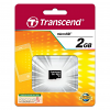 Original Transcend TS2GUSDC 2GB Micro SD Memory Card (TS2GUSDC)