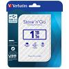 Original Verbatim Store 'N' Go 1TB White USB 3.0 External Hard Drive (53206)