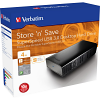Original Verbatim Store 'N' Save 4TB Black USB 3.0 External Hard Drive (47674)