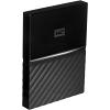 Original Western Digital My Passport Black 1TB USB C External Hard Drive (WDBFKF0010BBK-WESE)