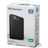 Original Western Digital Elements 750GB Portable USB 3.0 External Hard Drive (WDBUZG7500ABK-WESN)