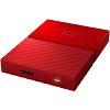 Original Western Digital My Passport Red 1TB USB 3.0 External Hard Drive (WDBYNN0010BRD-WESN)
