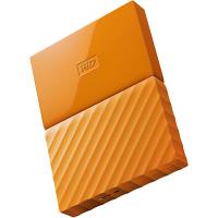 Original Western Digital My Passport Orange 3TB USB 3.0 External Hard Drive (WDBYFT0030BOR-WESN)