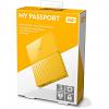 Original Western Digital My Passport 3TB Yellow USB 3.0 External Hard Drive (WDBYFT0030BYL-WESN)