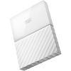 Original Western Digital My Passport White 3TB USB 3.0 External Hard Drive (WDBYFT0030BWT-WESN)