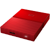 Original Western Digital My Passport Red 4TB USB 3.0 External Hard Drive (WDBYFT0040BRD-WESN)