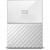 Original Western Digital My Passport White 4TB USB 3.0 External Hard Drive (WDBYFT0040BWT-WESN)
