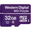 Original Western Digital Purple 32GB MicroSDHC Memory Card (WDD032G1P0A)