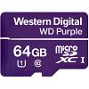 Original Western Digital Purple 64GB MicroSDXC Memory Card (WDD064G1P0A)