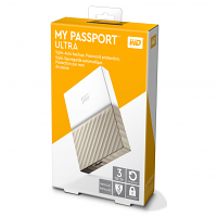 Original Western Digital My Passport Ultra 3TB USB 3.0 External Hard Drive (WDBFKT0030BGD-WESN)
