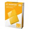 Original Western Digital My Passport 4TB Yellow USB 3.0 External Hard Drive (WDBYFT0040BYL-WESN)