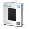 Original Western Digital Elements 1.5TB Black USB 3.0 External Hard Drive (WDBU6Y0015BBK-WESN)