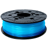 Original XYZprinting Clear Blue 1.75mm 600g PLA 3D Filament Cartridge (RFPLAXEU05F)