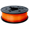 Original XYZprinting Clear Tangerine Junior 1.75mm PLA 3D Filament Cartridge (RFPLCXEU07B)