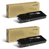 Original Xerox 106R03500 Black Twin Pack Toner Cartridges (106R03500)