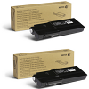Original Xerox 106R03516 Black Twin Pack High Capacity Toner Cartridges (106R03516)