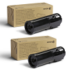 Original Xerox 106R03580 Black Twin Pack Toner Cartridges (106R03580)