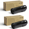 Original Xerox 106R03582 Black Twin Pack High Capacity Toner Cartridges (106R03582)