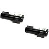 Original Xerox 6R90127 Black Twin Pack Toner Cartridges (6R90127)