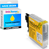 Premium Compatible Brother LC980Y Yellow Ink Cartridge (LC980Y)