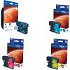 Original Brother LC1100HY CMYK Multipack High Capacity Ink Cartridges (LC1100HYBK/YC/YM/YY)