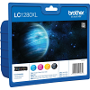 Original Brother LC1280XL CMYK Multipack Super High Capacity Ink Cartridges (LC1280XLVALBP)