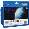 Original Brother LC970 CMYK Multipack Ink Cartridges (LC970VALBPRF)