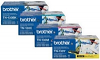 Original Brother TN-130 CMYK Multipack Toner Cartridges (TN130BK/ TN130C/ TN130M/ TN130Y)