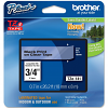 Original Brother TZe-141 Black On Clear 18mm x 8m Laminated P-Touch Label Tape (TZE141)