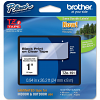 Original Brother TZe-151 Black On Clear 24mm x 8m Laminated P-Touch Label Tape (TZE151)