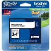 Original Brother TZe-241 Black On White 18mm x 8m Laminated P-Touch Label Tape (TZE241)