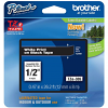 Original Brother TZe-335 White On Black 12mm x 8m Laminated P-Touch Label Tape (TZE335)